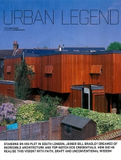 Incredible architecture on a backland, brownfield site, Grand Designs Magazine